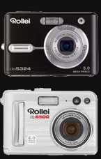 The 5 Mp Rollei da5324 and 6Mp Rollei dp6500 - Digital cameras, digital camera reviews, photography views and news news