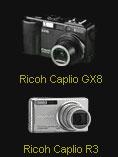 Ricoh updates the Caplio GX8 and R3 firmware - Digital cameras, digital camera reviews, photography views and news news