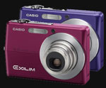 Casio introduces the Exilim Z-500 in Red and Blue - Digital cameras, digital camera reviews, photography views and news news