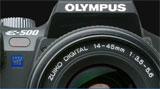 Olympus releases E500 firmware update v. 1.1 - Digital cameras, digital camera reviews, photography views and news news