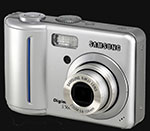 Samsung releases the 5 megapixel Digimax S500 - Digital cameras, digital camera reviews, photography views and news news
