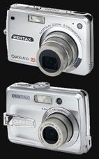 Pentax unveils Optio A10 and E10 at CES 2006 - Digital cameras, digital camera reviews, photography views and news news