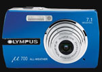 The Olympus Stylus 710 / µ 700 compact and 7Mp - Digital cameras, digital camera reviews, photography views and news news