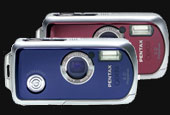 Pentax now offers H20 cameras in red and blue - Digital cameras, digital camera reviews, photography views and news news