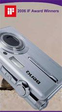BenQ shows new 5 and 6 Mp digital cameras - Digital cameras, digital camera reviews, photography views and news news