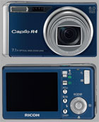 Ricoh announces the Caplio R4 Mystic Blue - Digital cameras, digital camera reviews, photography views and news news
