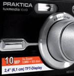 Pentacon announces three new Praktica cameras - Digital cameras, digital camera reviews, photography views and news news