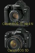 Canon updates EOS EOS-1D Mark II N & EOS 5D - Digital cameras, digital camera reviews, photography views and news news