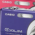 Casio Exilim EX-Z700 now available in Blue & Red - Digital cameras, digital camera reviews, photography views and news news