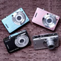 Sony launches colorful Cyber-shot W55 and W35 - Digital cameras, digital camera reviews, photography views and news news