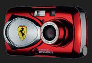 The Olympus Ferrari DIGITAL MODEL 2003 - Digital cameras, digital camera reviews, photography views and news news