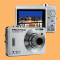 Pentacon introduces 7 Mp Praktica digital cameras - Digital cameras, digital camera reviews, photography views and news news
