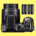 New Nikon L100 firmware supports Ni-MH batteries - Digital cameras, digital camera reviews, photography views and news news