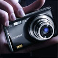 New Fuji FinePix F70 compact with EXR technology - Digital cameras, digital camera reviews, photography views and news news