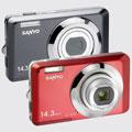New Sanyo X1420, X1220 and S122 digital cameras - Digital cameras, digital camera reviews, photography views and news news