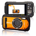 Pentax releases the Optio W90 in Shiny Orange - Digital cameras, digital camera reviews, photography views and news news