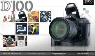 Click here to view Nikon's Flash animation on the D100