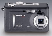 The new Minox DC 2133 with 3 x optical zoom - Digital cameras, digital camera reviews, photography views and news news