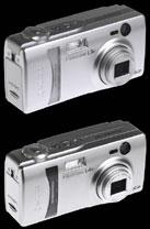 The Kyocera Finecam L3v and L4V digital cameras