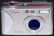 Toshiba's PDR-5300 entry in 5 megapixel class - Digital cameras, digital camera reviews, photography views and news news