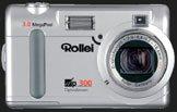 The new versatile Rollei dp300 camera - Digital cameras, digital camera reviews, photography views and news news