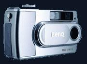 BenQ announces the stylish BenQ DC3410 - Digital cameras, digital camera reviews, photography views and news news