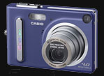Casio's Special Edition EX-Z4 sings the Blues - Digital cameras, digital camera reviews, photography views and news news