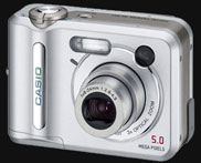 Casio announces the 5 megapixel & fast QV-R51 - Digital cameras, digital camera reviews, photography views and news news