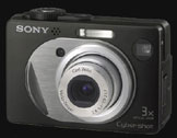 Sony announces Cyber-shot 5 megapixel DSC-W1 - Digital cameras, digital camera reviews, photography views and news news