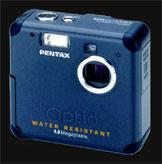 The Pentax Optio43WR dunkable digicam - Digital cameras, digital camera reviews, photography views and news news