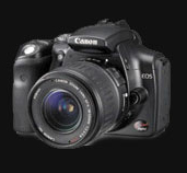 Canon launches Black Digital Rebel / EOS-300D - Digital cameras, digital camera reviews, photography views and news news