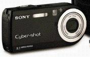 Sony announces black Cyber-Shot DSC-P120 - Digital cameras, digital camera reviews, photography views and news news