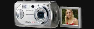 Samsung's innovative Kenox A5 digital camera - Digital cameras, digital camera reviews, photography views and news news