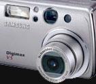 The new 5 megapixel Samsung Digimax V5 - Digital cameras, digital camera reviews, photography views and news news