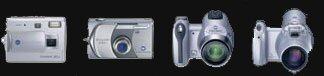 Konica Minolta announces 4 new digital cameras - Digital cameras, digital camera reviews, photography views and news news