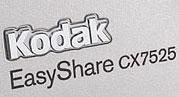 Kodak announces 5 Mp EasyShare CX7525 camera - Digital cameras, digital camera reviews, photography views and news news