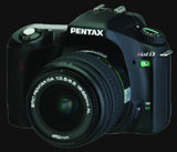 Pentax shrinks its digital SLR an unveils the *ist Ds - Digital cameras, digital camera reviews, photography views and news news