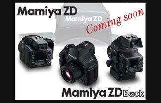 Mamiya ZD 22 Mp digital camera back coming soon - Digital cameras, digital camera reviews, photography views and news news