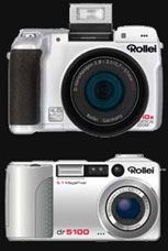 Rollei launches the dr5100 and 10x zoom dk4010 - Digital cameras, digital camera reviews, photography views and news news