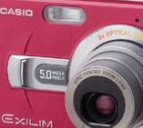 The new Casio EXILIM Zoom EX-Z50 Red Star - Digital cameras, digital camera reviews, photography views and news news
