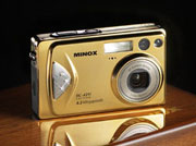 The golden DC 4211 from the house of MINOX - Digital cameras, digital camera reviews, photography views and news news