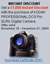 Great deal on the DCS Pro SLR/c Digital Camera - Digital cameras, digital camera reviews, photography views and news news