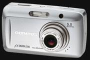Olympus announces 5 megapixel µ DIGITAL 500 - Digital cameras, digital camera reviews, photography views and news news