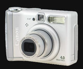 Canon announces 4 Megapixel Powershot A520 - Digital cameras, digital camera reviews, photography views and news news