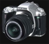 Popular Pentax *ist DS now available in Silver outfit - Digital cameras, digital camera reviews, photography views and news news