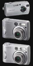 Three additions to Sony's S-series digital cameras - Digital cameras, digital camera reviews, photography views and news news