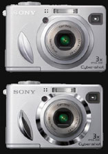 Sony turbo-charges new W-series digital cameras - Digital cameras, digital camera reviews, photography views and news news