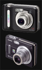 Casio's black edition of the QV-R52 and EX-Z57 - Digital cameras, digital camera reviews, photography views and news news