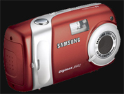 Samsung unveils Digimax A402 - Digital cameras, digital camera reviews, photography views and news news