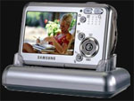 Samsung Digimax i5 fits in the palm of your hand - Digital cameras, digital camera reviews, photography views and news news